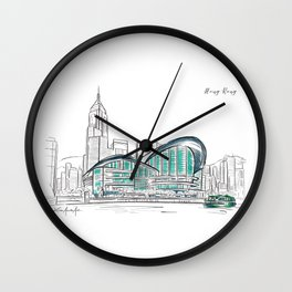 Hong Kong Convention and Exhibition Centre Wall Clock