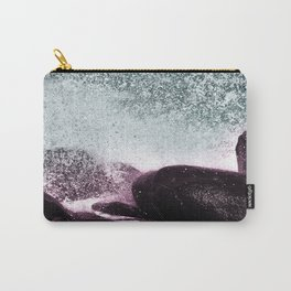 Navy Blue Sea Water Carry-All Pouch