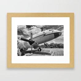 Hastings TG517 mono  Framed Art Print