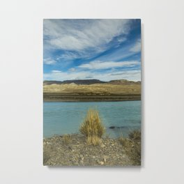 Bush by the river Metal Print