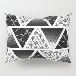 Zentangle Triangles Pillow Sham