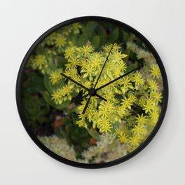 Mini Sunbursts Wall Clock