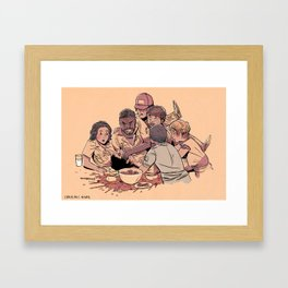 Aboard the Nostromo Framed Art Print