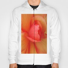 Strawberries and Cream Abstract. Hoody