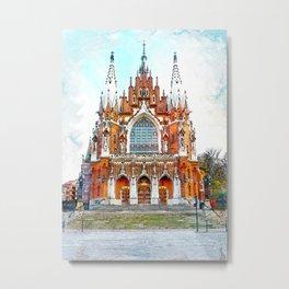 St. Josephs Church Krakow #krakow Metal Print