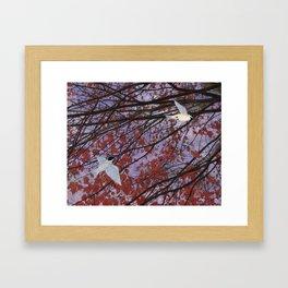 astral autumn Framed Art Print