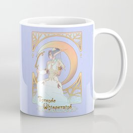 Art Nouveau Moon Goddess Coffee Mug