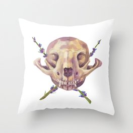 Fox Crossings Throw Pillow