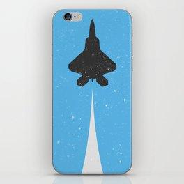 Fighter Jet Ascending iPhone Skin