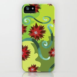 Colors of Emotions Jealousy iPhone Case