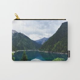 长海 // Long Lake, Jiuzhaigou Carry-All Pouch