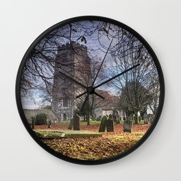 St Martin Aldington Wall Clock