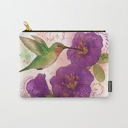Pollinator Animals- Hummingbird Carry-All Pouch