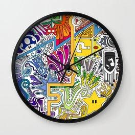 """Mario """"Paint"""" Wall Clock"""