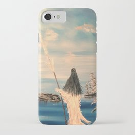 Atlantean Priestess iPhone Case