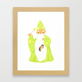 Wizards Are Your BFFs Framed Art Print