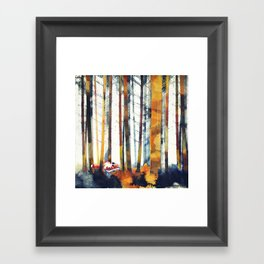 Autumn Hunt Framed Art Print