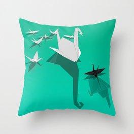 Misfit Throw Pillow