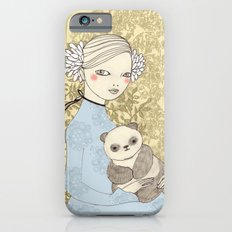 Girl with Panda iPhone 6s Slim Case