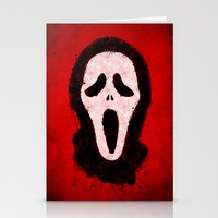 scream Stationery Cards featuring Scream by Bill Pyle