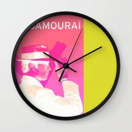 Le Samourai 1  Wall Clock