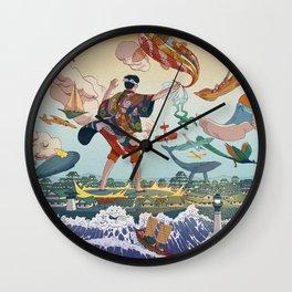 Ukiyo-e tale: The legend Wall Clock