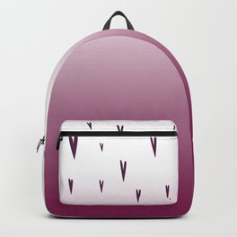 love hearts edition, pink Backpack