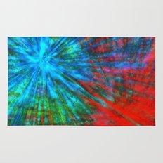 Abstract Big Bangs 001 Rug