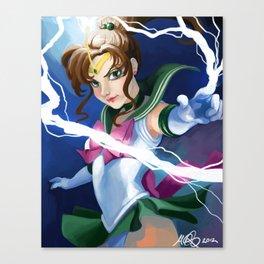 Supreme Thunder! Canvas Print