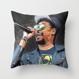 Danny Brown Throw Pillow