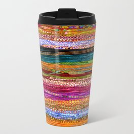 Indian Colors Metal Travel Mug