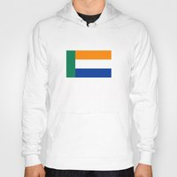 south africa Hoodies featuring Afrikaner ethnic flag south africa country by tony tudor