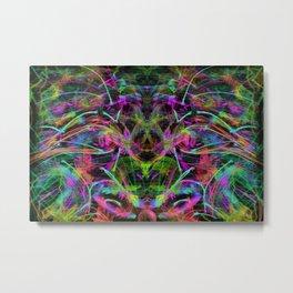 Face To Face, Quantum Spirit Metal Print