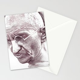 Mahatma Gandhi Stationery Cards
