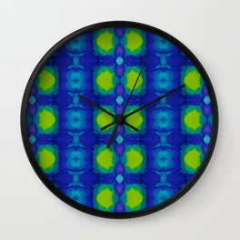 Purple and green dream II Wall Clock