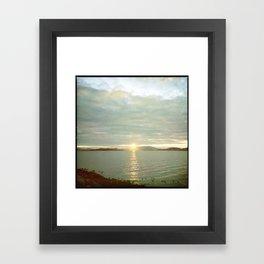 San Francisco Bay Framed Art Print