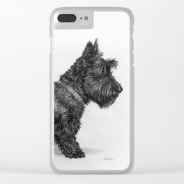 Scottish Terrier Clear iPhone Case
