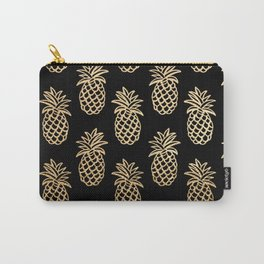 Piñas Gold Carry-All Pouch