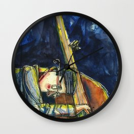 Love Jazz Wall Clock