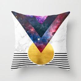 012 - Virgo descendant Throw Pillow
