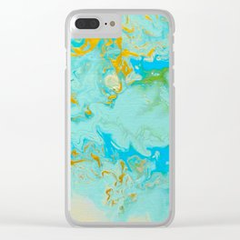 Aerial Journeys 1-Diptych Clear iPhone Case