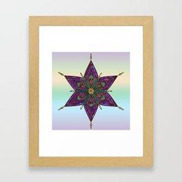 Crest of Kali Framed Art Print