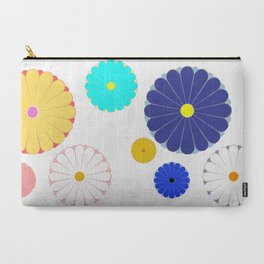 HOMEMADE JAPANESE FLOWER PATTERN Carry-All Pouch