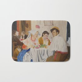 People eating Bath Mat
