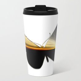 Butterfly - a year later Metal Travel Mug