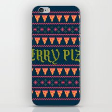 Merry Pizza iPhone & iPod Skin