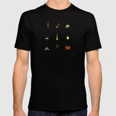 Summer kitchen Black MEDIUM Mens Fitted Tee