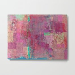 Lake Retba (Lac Rose) Metal Print