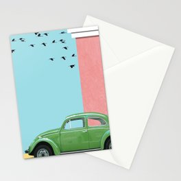 The end of the street Stationery Cards