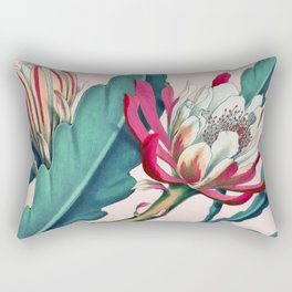Flowering cactus IV Rectangular Pillow